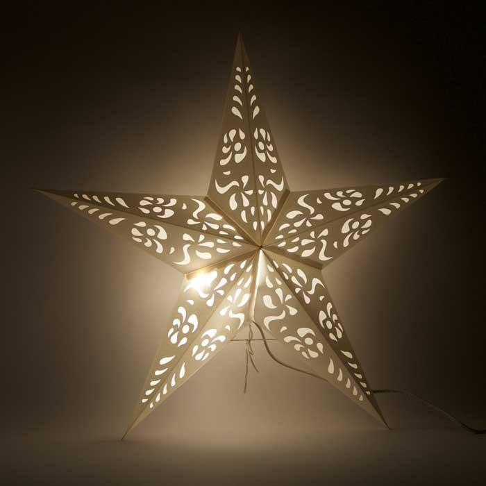 Kerstster Chakra - Papieren Kerstster
