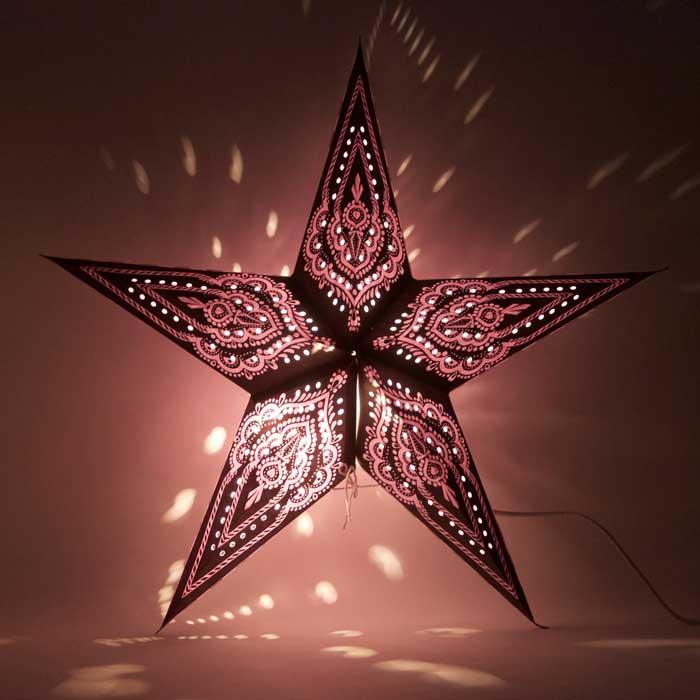 kerstster kerststerren papieren lamp colombo 2