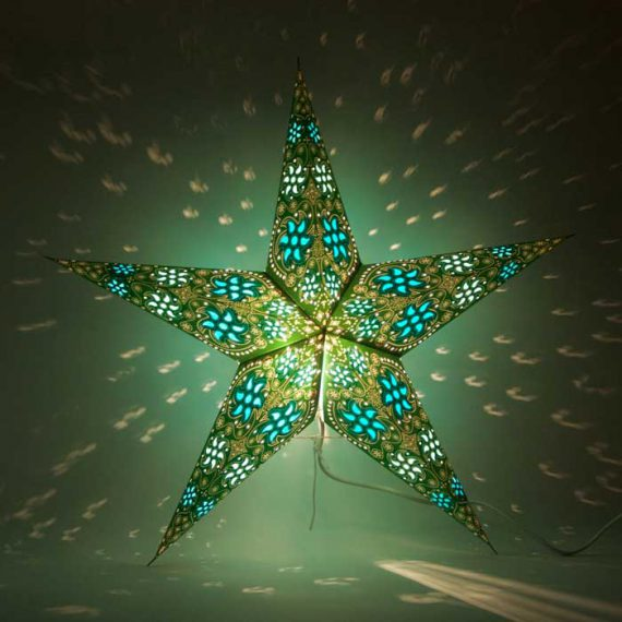 kerstster-kerststerren-papieren-lamp-green-divali-2