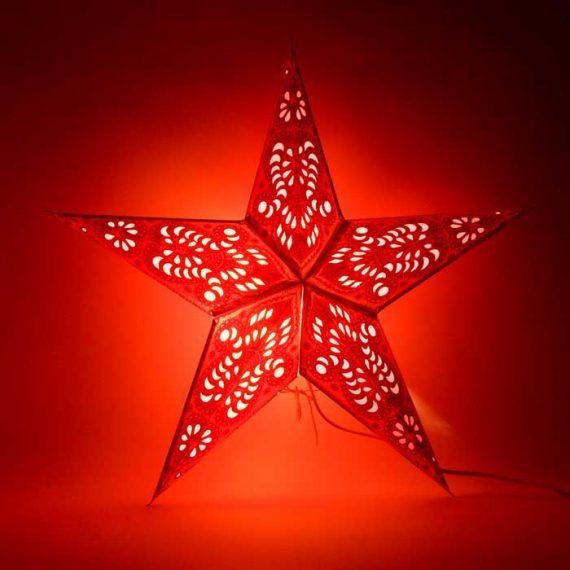 kerstster-kerststerren-papieren-lamp-orange-shiva-2