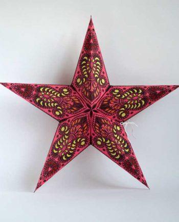 kerstster-kerststerren-papieren-lamp-pink-shiva