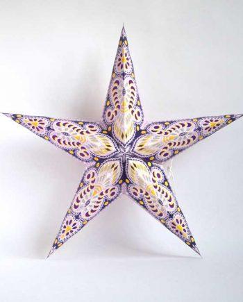 kerstster-kerststerren-papieren-lamp-purple-shiva