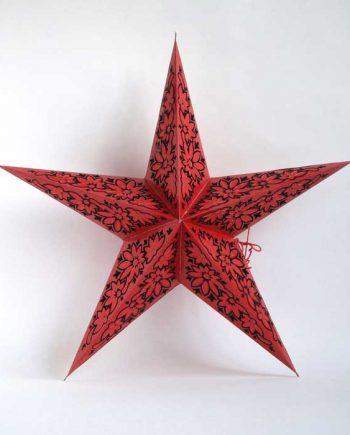 kerstster-kerststerren-papieren-lamp-red-ceylon