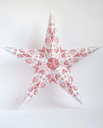 kerstster-kerststerren-papieren-lamp-red-pashmina