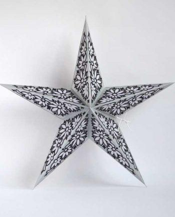 kerstster-kerststerren-papieren-lamp-silver-black-ceylon