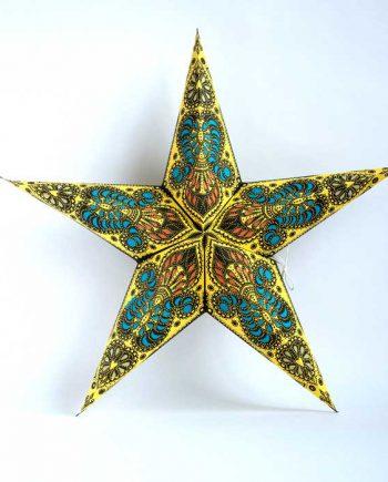 kerstster-kerststerren-papieren-lamp-yellow-shiva