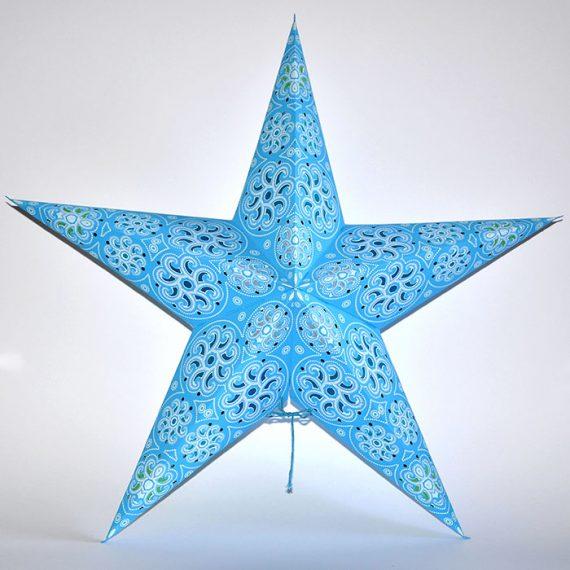 papieren-kerstster-Cylon-Blue