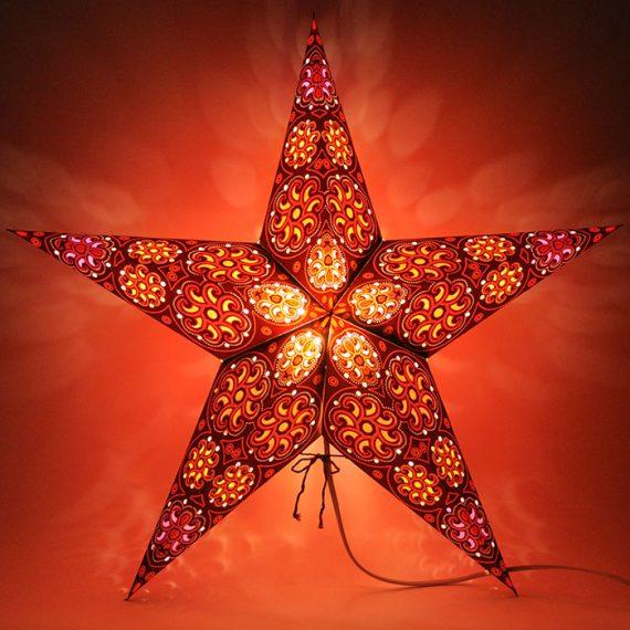 papieren-kerstster-Cylon-Orange-Brown-dark