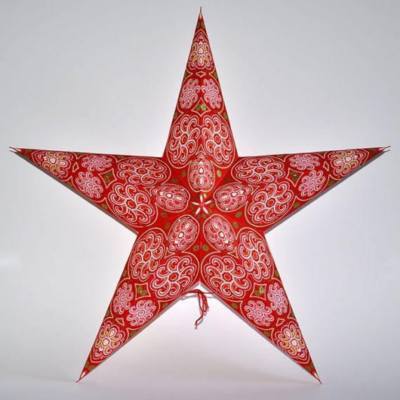 papieren-kerstster-Cylon-Red