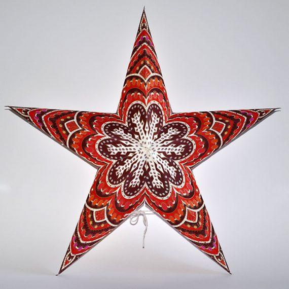 papieren-kerstster-Himalaya-Brown-Orange