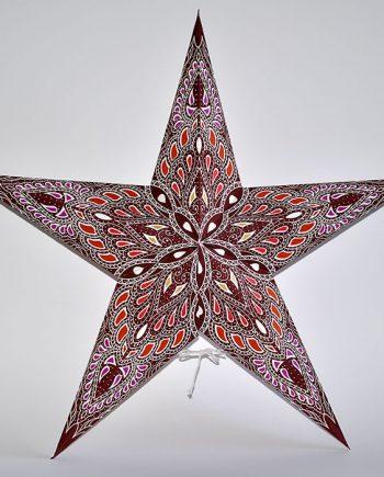 papieren-kerstster-Kathmandu-Brown